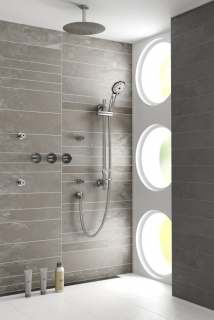 Bristan Orb Recessed Dual Control Shower Pack ORB SHWR PK