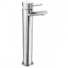 Image for Bristan Oval - Basin Tap - Deck Mounted Monobloc Tall (Without Waste) - Chrome - OL TBAS C