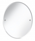 Bristan Oval 610 x 500mm Bathroom Mirror COMP MROV C