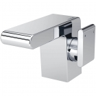 Image for Bristan Pivot - Basin Tap - Deck Mounted Monobloc (Side Action With Clicker Waste) - Chrome - PIV SABAS C