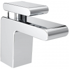 Image for Bristan Pivot - Basin Tap - Deck Mounted Monobloc (With Clicker Waste) - Chrome - PIV BAS C