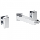 Image for Bristan Pivot - Basin Tap - Wall Mounted 3 Hole Mixer - Chrome - PIV WMBAS C
