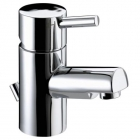 Image for Bristan Prism - Basin Tap - Deck Mounted Monobloc Small (With Pop Up Waste) - Chrome - PM SMBAS C