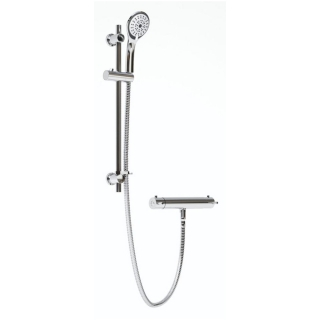 Bristan Prism Cool Touch Shower Bar Mixer PM SHXMMCTFF C
