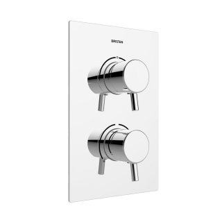 Bristan Prism Recessed Thermostatic Dual Control Shower Valve PM2 SHCDIV C