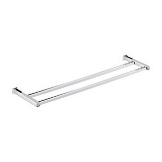 Bristan Qube Double Towel Rail Chrome Plated QU DRAIL C