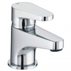 Image for Bristan Quest - Basin Tap - Deck Mounted Monobloc (With Clicker Waste) - Chrome - QST BAS C