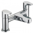 Image for Bristan Quest - Bath Tap - Deck Mounted Bath Filler - Chrome - QST BF C