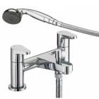 Image for Bristan Quest - Bath Tap - Deck Mounted Bath Shower Mixer - Chrome - QST BSM C