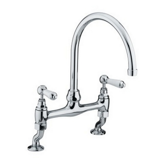 Bristan Renaissance Deck Sink Mixer Chrome Plated RS DSM C