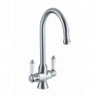 Image for Bristan Renaissance Easyfit Monobloc Kitchen Sink Mixer Tap - Brushed Nickel RS SNK EF BN