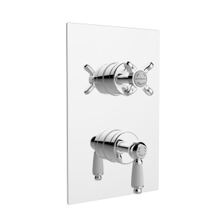 Bristan Renaissance Recessed Thermostatic Dual Control Shower Valve RS SHCDIV C