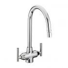 Bristan Revolve Monobloc Sink Mixer With Directional Nozzle Chrome Plated RV SNK C