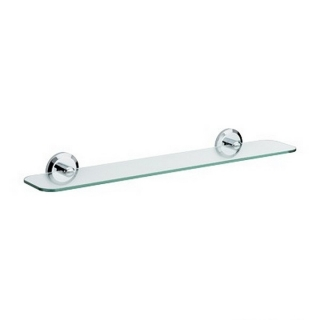 Bristan Solo Glass Shelf Chrome Plated SO SHELF C