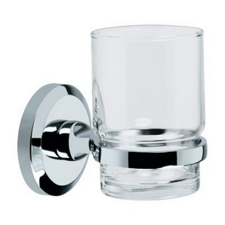 Bristan Solo Toothbrush & Tumbler Holder Chrome Plated SO HOLD C