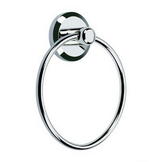 Bristan Solo Towel Ring Chrome Plated SO RING C