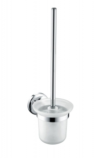 Bristan Solo Wall Hung Toilet Brush Brass Chrome Plated SO WHBRU C