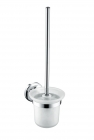 Image for Bristan Solo Wall Hung Toilet Brush Brass Chrome Plated SO WHBRU C