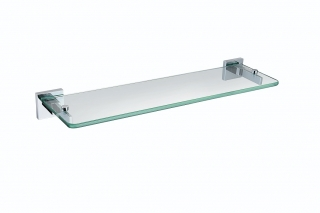 Bristan Square Glass Shelf SQ SHELF C
