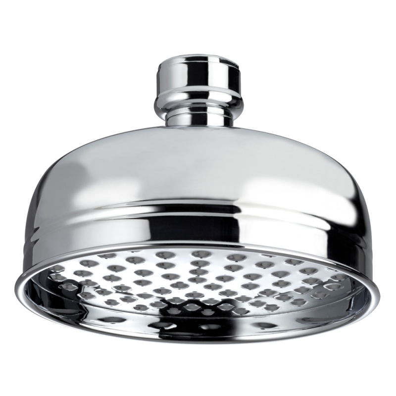 Bristan Traditional 145mm Round Fixed Head Chrome FH TDRD01 C ...