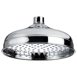Bristan Traditional 200mm Round Fixed Head Chrome FH TDRD02 C