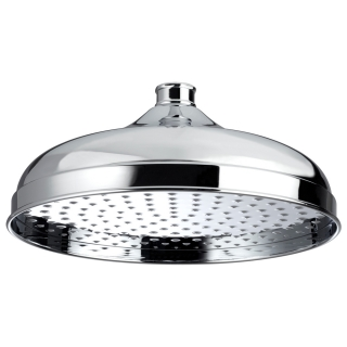 Bristan Traditional 300mm Round Fixed Head Chrome FH TDRD03 C
