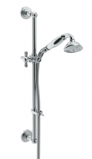 Bristan Traditional Deluxe Shower Kit - Chrome TRD KIT01 C