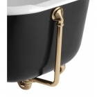 Image for Bristan Traditional Exposed Bath Waste With Overflow - Gold W BATH08 G