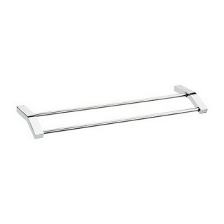 Bristan Twist Double Towel Rail Chrome Plated TW DRAIL C