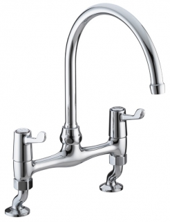 Bristan Value Lever Bridge Deck Sink Mixer VAL BRDSM C CD