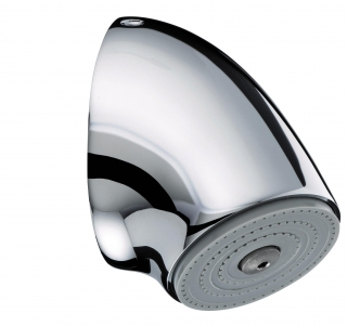 Bristan Vandal Resistant Adjustable Fast Fit Duct Showerhead VR3000FF DUCT