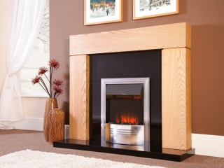 Celsi Accent Infusion Chrome Electric Fire