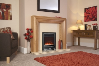 Celsi Electriflame XD Arcadia Silver Electric Fire