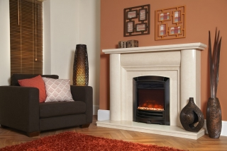Celsi Electriflame XD Decadence Black Nickel Electric Fire
