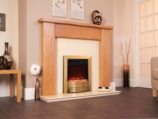 Celsi Electriflame XD Essence Antique Brass Electric Fire