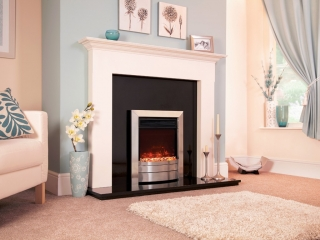 Celsi Electriflame XD Essence Silver Electric Fire