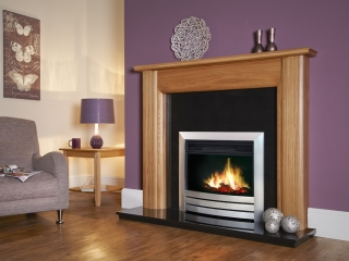 Celsi Puraflame Camber Hearth Mounted Electric Fire
