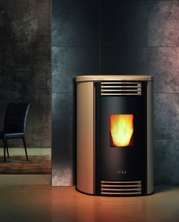 Cola Aloe Pellet Air Stoves