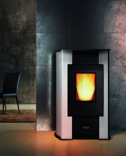 Cola Aurora Pellet Air Stoves