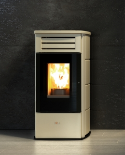 Cola Fire Lux HR Pellet Air Stoves