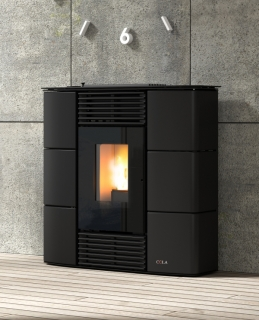 Cola Sprint Majolica Ductable Pellet Air Stoves