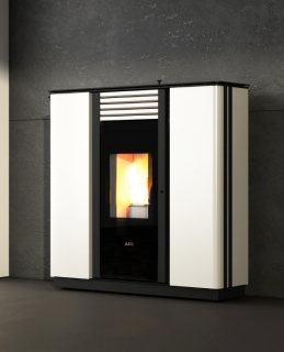 Cola Sprint Steel Ductable Acciaio Pellet Air Stoves