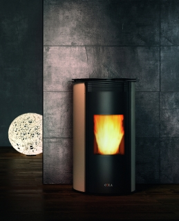 Cola Wave Steel Ductable Pellet Air Stoves