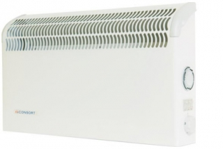 Consort 2kW Wall Mounted Convector Heater - Timer (Under Trunking)
