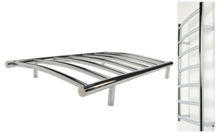 Consort 65W Chrome Ladder Towel Rail