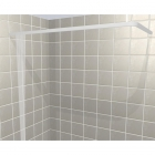 Image for Contour L-Shaped Rectangular Shower Curtain Rail - 750mm x 1800mm
