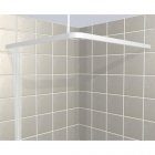Image for Contour L-Shaped Square Shower Curtain Rail - 900mm x 900mm
