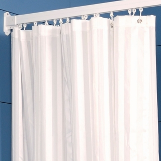 Contour Striped Shower Curtains