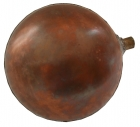 """Image for Spherical Copper Float 4.1/2"""" x 5/16"""""""