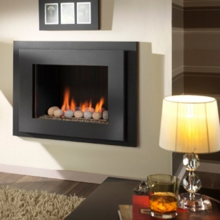 Crystal Fires Manhattan Pebble Fuelbed Gas Fire